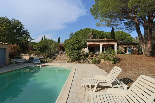 For sale house, villa Grimaud -  Villa with pool near the village