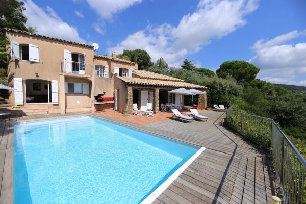 For sale house, villa Grimaud - Panoramic view on Grimaud