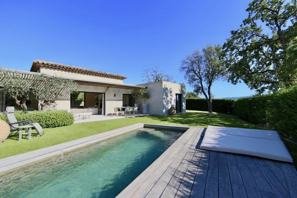 Villa contemporaine à Grimaud