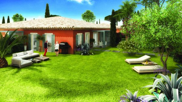 For sale house, villa Grimaud - New in Vefa 1 bedroom house in residence for seniors